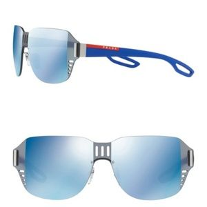 PRADA LINEA ROSSA Shield Sunglasses
